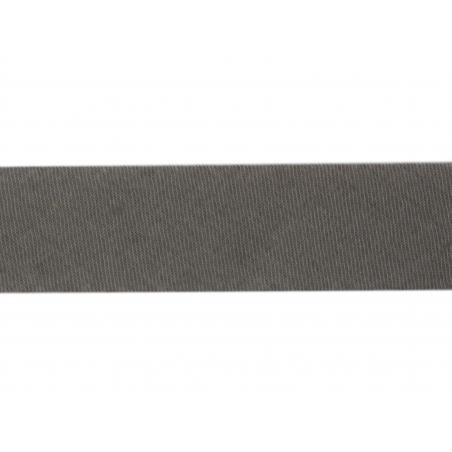 1 m of bias binding (20 mm) - dark grey (colour no. 133)