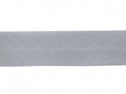 1 m of bias binding (20 mm) - light grey (colour no. 131)