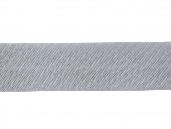 1 m of bias binding (20 mm) - light grey (colour no. 131)