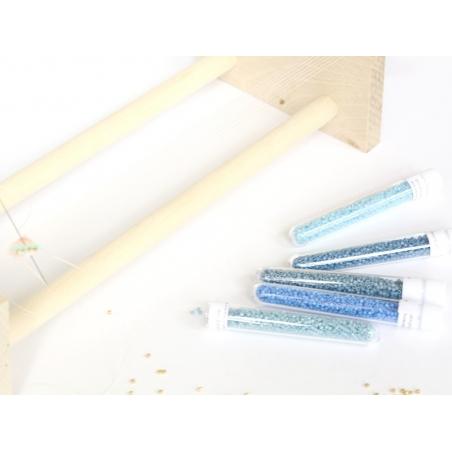 Acheter Miyuki Delicas 11/0 - Bleu Nil 2128 - 2,49€ en ligne sur La Petite Epicerie - 100% Loisirs créatifs