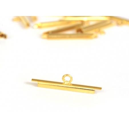 Embout pour tissage de perles Doré - 20 mm Miyuki - 2