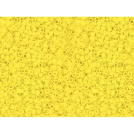 Miyuki Delicas 11/0 - canary yellow, no. 721