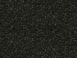 Tube de 1100 rocailles - Miyuki Delicas 11/0 - Noir mat 310
