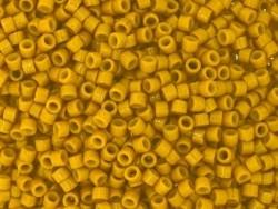 Miyuki Delicas 11/0 - mustard yellow, no. 2106