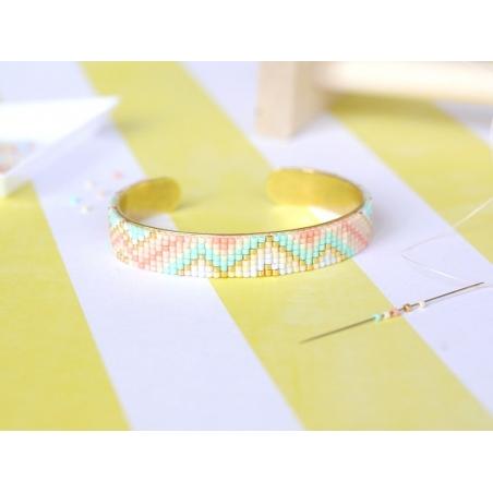 Acheter Miyuki Delicas 11/0 - Duracoat opaque baige 2105 - 2,80€ en ligne sur La Petite Epicerie - Loisirs créatifs