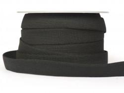 1m élastique 20mm - Noir 14