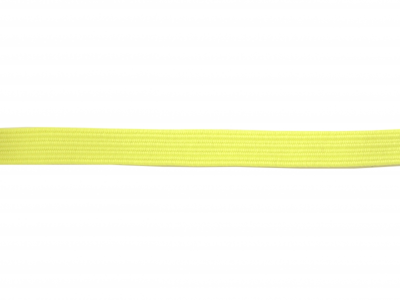 1 m of elastic band (8 mm) - neon yellow (colour no. 202)