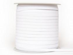1m élastique 7 mm - Blanc 01