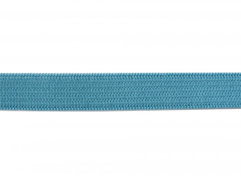 1m élastique 10mm - Bleu 020