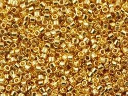 Miyuki Delicas 11/0 - zinc-coated gold, no. 1832