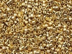 Miyuki Delicas 11/0 - champagnerfarbenes Gold (Farbnr. 1834)