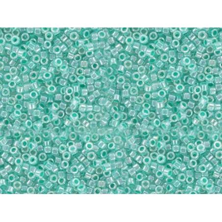 Miyuki Delicas 11/0 - shiny sea green, no. 238