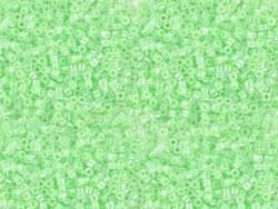 Tube de 1100 rocailles - Miyuki Delicas 11/0 - Vert clair 237