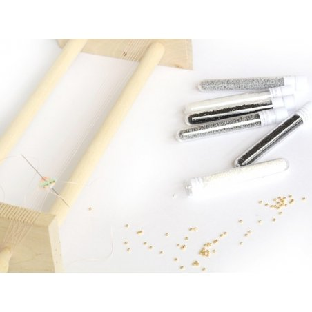 Acheter Miyuki Delicas 11/0 - Ceylon white pearl 201 - 1,99€ en ligne sur La Petite Epicerie - Loisirs créatifs