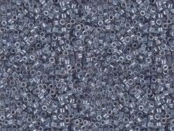 Miyuki Delicas 11/0 - glänzendes Grau (Farbnr. 242)