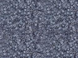 Tube de 1100 rocailles - Miyuki Delicas 11/0 - Gris brillant 242