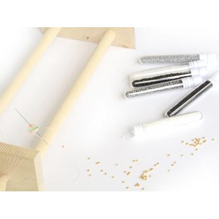 Acheter Miyuki Delicas 11/0 - Gris brillant 242 - 1,99€ en ligne sur La Petite Epicerie - 100% Loisirs créatifs