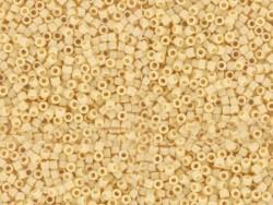Röhrchen mit 1.100 Rocailleperlen - Miyuki Delica's 11/0 - aprikosenfarben, Nr. 1131