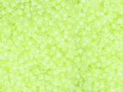 Miyuki Delicas 11/0 - Jaune fluo 2031