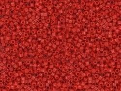 Tube de 1100 rocailles - Miyuki Delicas 11/0 - Rouge 723
