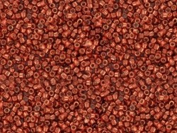 Miyuki Delicas 11/0 - Rouge métallique 1838