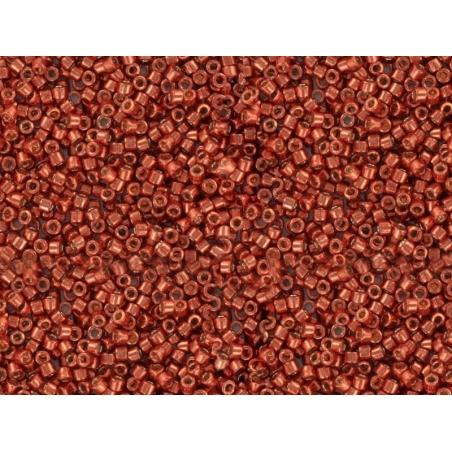 Miyuki Delicas 11/0 - metallic red, no. 1838