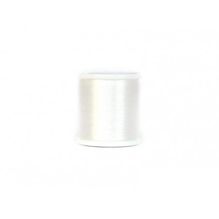Nylon thread bobbin (0.2 mm x 50 m) - White