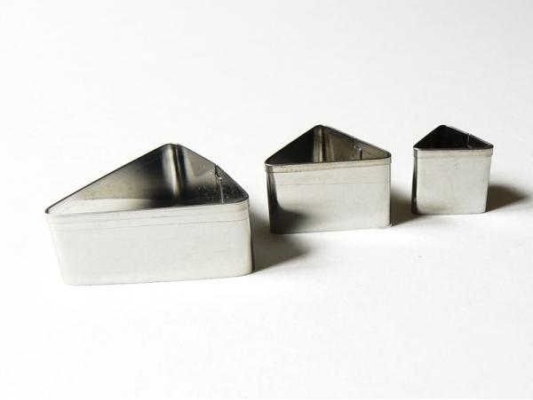3 biscuit cutters - Triangles