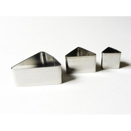 3 emporte-pièces TRIANGLES