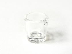 un mini pot à confiture plastique miniature
