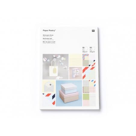Acheter Bloc de papier à motif - My memo - 9,50€ en ligne sur La Petite Epicerie - 100% Loisirs créatifs