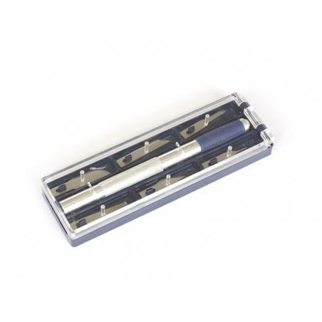 Handicraft scalpel set + 6 blades