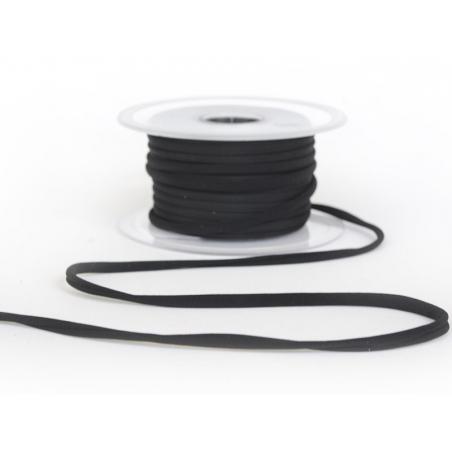 1 m of spaghetti ribbon (5 mm) - black (colour no. 14)