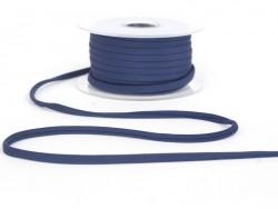 1 m Spaghettiband (5 mm) - marineblau (Farbnr. 23)