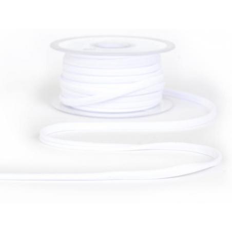 1m spaghetti 5mm - Blanc 01