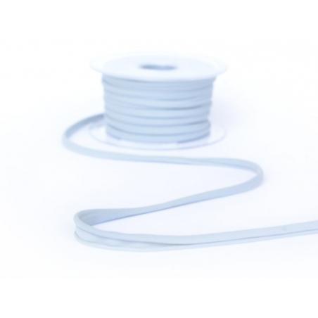 1 m of spaghetti ribbon (5 mm) - light grey (colour no. 33)