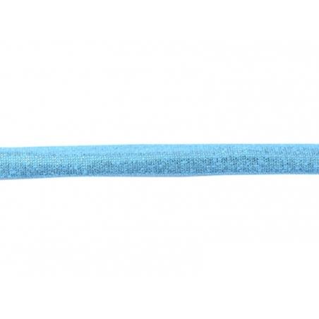1 m of spaghetti ribbon (5 mm) - metallic blue (colour no. 120)