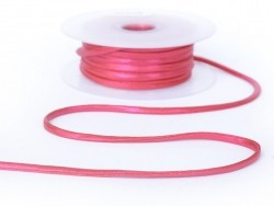 1m spaghetti 5mm - Rose métallisé 178