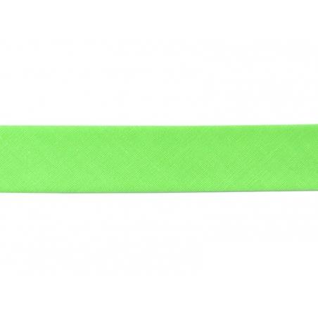 1 m of bias binding (20 mm) - neon green (colour no. 202)