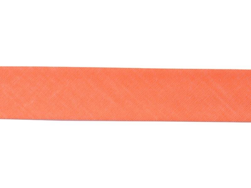 1 m of bias binding (20 mm) - neon orange (colour no. 203)