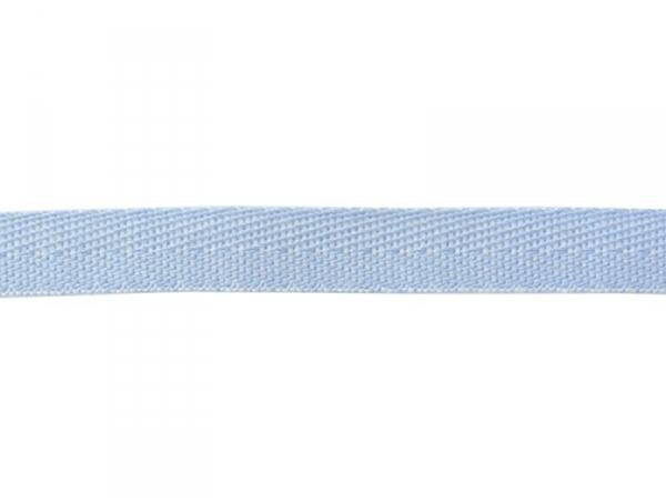1m ruban tissé denim 10 mm - bleu clair 003