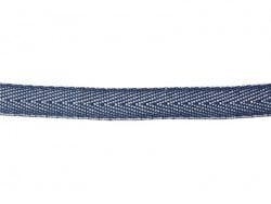 1 m of woven denim (10 mm) - dark blue (023)
