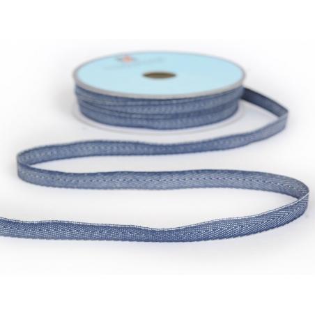 Acheter 1m ruban tissé denim 10 mm - bleu foncé 023 - 0,89€ en ligne sur La Petite Epicerie - 100% Loisirs créatifs