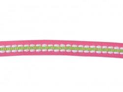 Acheter 1m ruban tissé pointillé et 8 mm - rose / vert 073 - 0,89€ en ligne sur La Petite Epicerie - 100% Loisirs créatifs