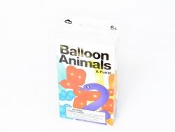Kit de 24 ballons animaux + pompe