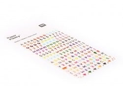 Stickers Lettres Rico Design - 1