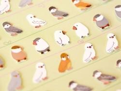 Stickers Rangées d'oiseaux