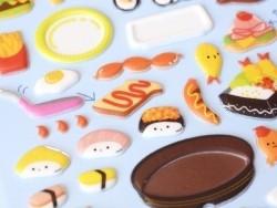 Picnic stickers
