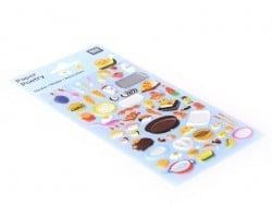 Stickers Pique-Nique Rico Design - 1