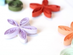 Stickers Quilling - Fleurs